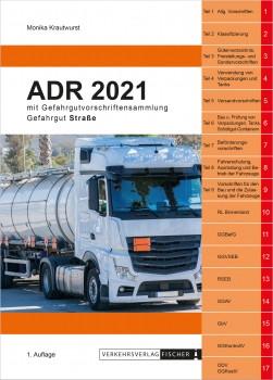 ADR 2021 Gefahrgut Straße mit Gefahrgutvorschriftensammlung